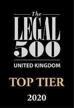 The Legal 500 - Top Tier